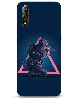 Shop Shooting Gamer Vivo S1 Mobile Cover-Front