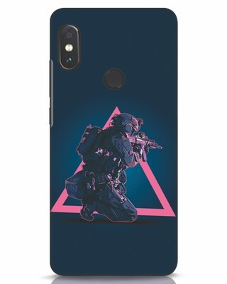 Shop Shooting Gamer Xiaomi Redmi Note 5 Pro Mobile Cover-Front