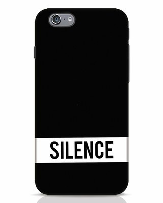 Shop Silence iPhone 6 Mobile Cover-Front