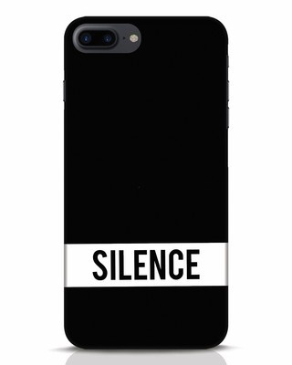 Shop Silence iPhone 7 Plus Mobile Cover-Front