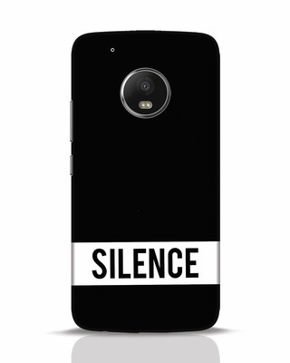 Shop Silence Moto G5 Plus Mobile Cover-Front