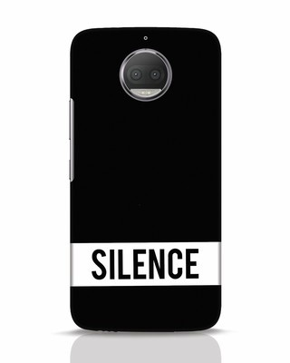 Shop Silence Moto G5s Plus Mobile Cover-Front