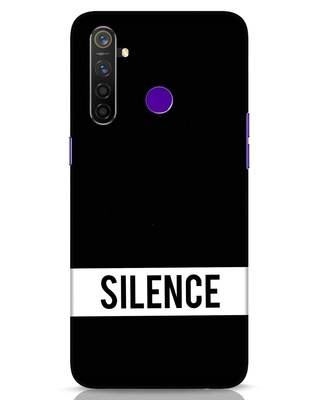 Shop Silence Realme 5 Pro Mobile Cover-Front