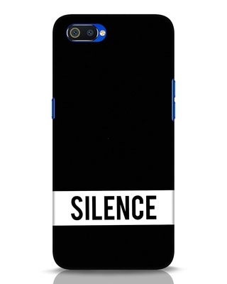 Shop Silence Realme C2 Mobile Cover-Front
