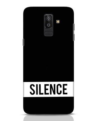 Shop Silence Samsung Galaxy J8 Mobile Cover-Front