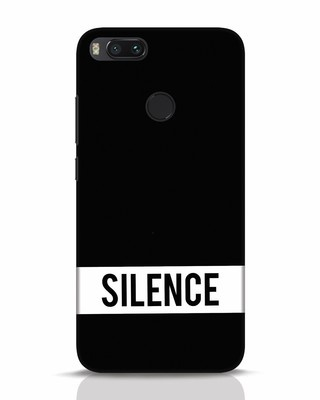Shop Silence Xiaomi Mi A1 Mobile Cover-Front