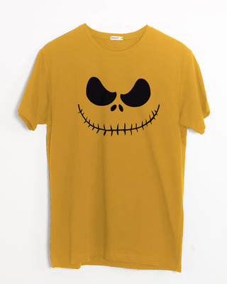 Shop Skellington Half Sleeve T-Shirt-Front