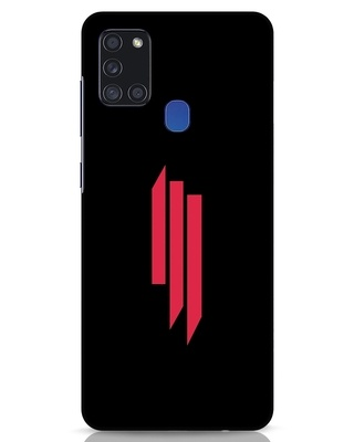 Shop Skrlx Samsung Galaxy A21s Mobile Cover-Front