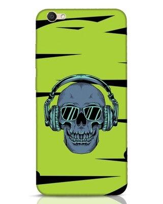 Shop Skull Headphone Neon Vivo V5 Mobile Cover-Front