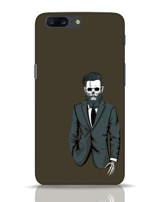 Shop Skullman OnePlus 5 Mobile Cover-Front
