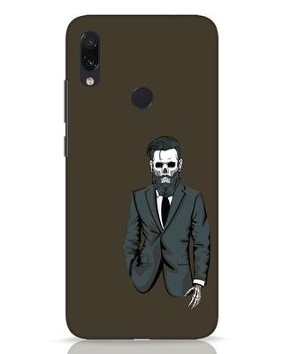 Shop Skullman Xiaomi Redmi Note 7 Pro Mobile Cover-Front