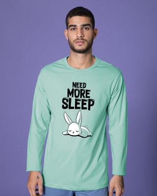 Shop Sleep Bunny Full Sleeve T-Shirt-Front