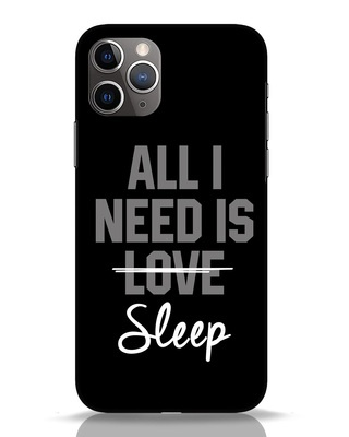 Shop Sleep iPhone 11 Pro Mobile Cover-Front