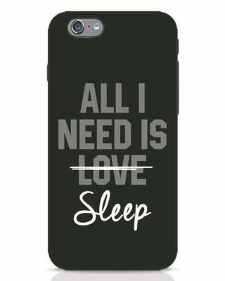 Shop Sleep iPhone 6s Mobile Cover-Front