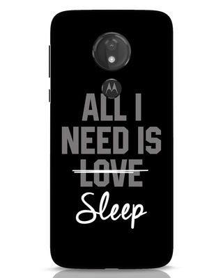 Shop Sleep Moto G7 Power Mobile Cover-Front