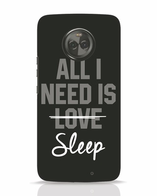 Shop Sleep Moto X4 Mobile Cover-Front