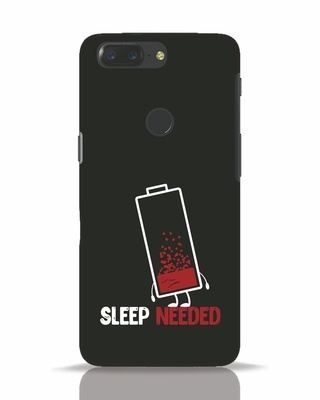 Shop Sleep Needed OnePlus 5T Mobile Cover-Front