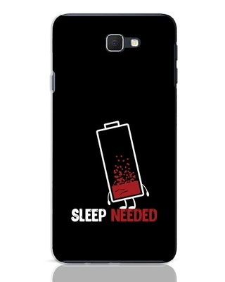 Shop Sleep Needed Samsung Galaxy J7 Prime Mobile Cover-Front