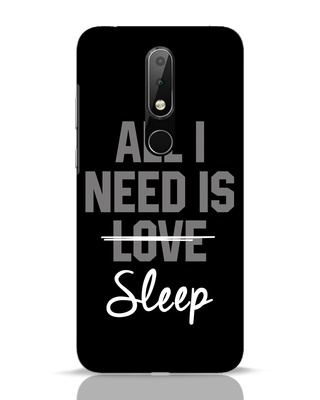 Shop Sleep Nokia 6.1 Plus Mobile Cover-Front