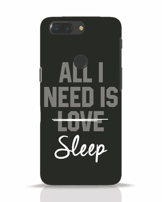 Shop Sleep OnePlus 5T Mobile Cover-Front