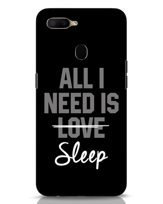 Shop Sleep Oppo A5s Mobile Cover-Front