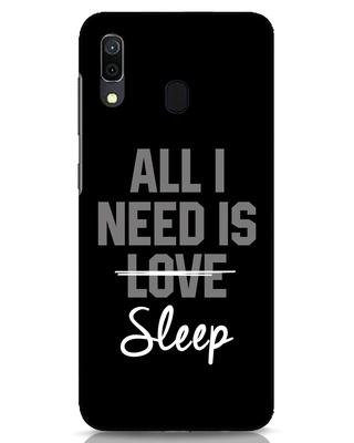 Shop Sleep Samsung Galaxy A30 Mobile Cover-Front