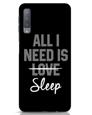 Shop Sleep Samsung Galaxy A7 Mobile Cover-Front