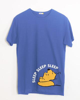 Shop Sleep Sleep Sleep Half Sleeve T-Shirt (DL)-Front