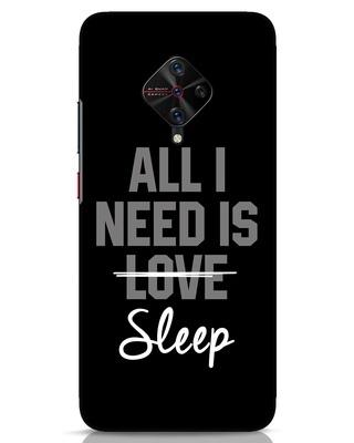 Shop Sleep Vivo S1 Pro Mobile Cover-Front