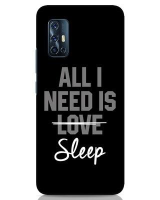 Shop Sleep Vivo V17 Mobile Cover-Front