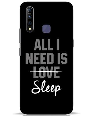 Shop Sleep Vivo Z1 Pro Mobile Cover-Front