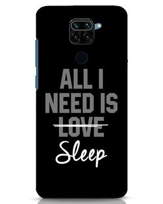 Shop Sleep Xiaomi Redmi Note 9 Mobile Cover-Front