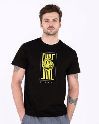Shop Smile Always Half Sleeve T-Shirt-Front