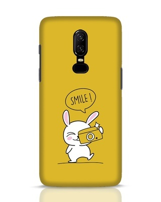 Shop Smile Please OnePlus 6 Mobile Cover-Front