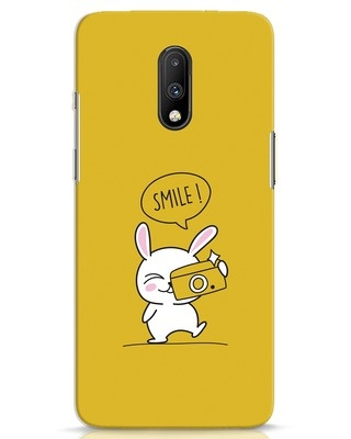 Shop Smile Please OnePlus 7 Mobile Cover-Front