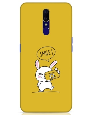 Shop Smile Please Oppo F11 Mobile Cover-Front