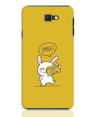 Shop Smile Please Samsung Galaxy J7 Prime Mobile Cover-Front
