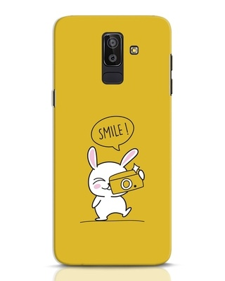 Shop Smile Please Samsung Galaxy J8 Mobile Cover-Front