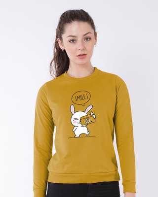 Shop Smile Please Sweatshirt-Front