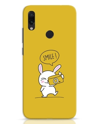 Shop Smile Please Xiaomi Redmi Note 7 Pro Mobile Cover-Front