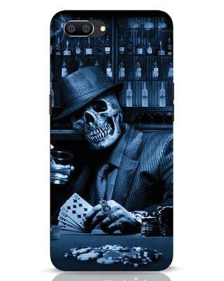 Shop Smoke Skull Realme C1 Mobile Cover-Front