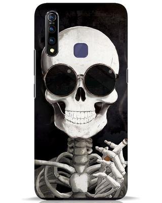 Shop Smoking Skull Vivo Z1 Pro Mobile Cover-Front