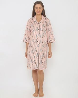 Shop T&J Hide & Seek Women Sleepshirt Lilac-Front