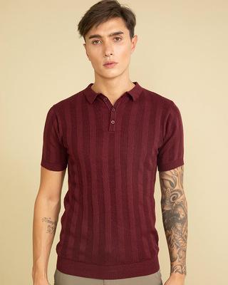 Shop Snitch Elite Maroon T-Shirt-Front