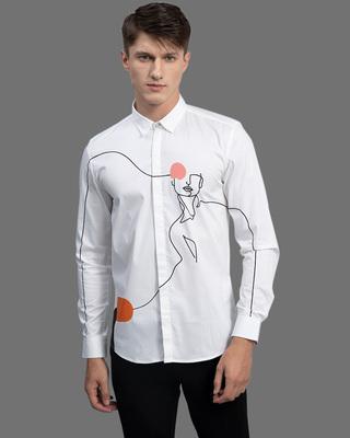Shop Snitch Fizzog White Shirt-Front