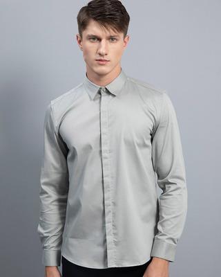 Shop Snitch Gallant Grey Shirt-Front