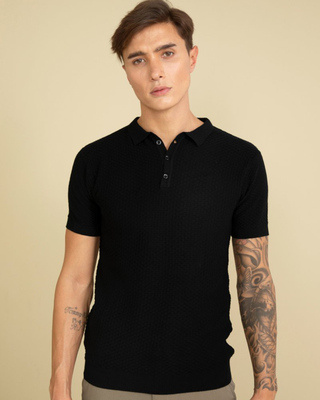 Shop Snitch Perky Black T-Shirt-Front