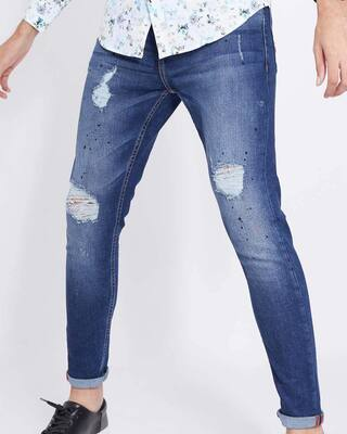 Shop Snitch Pessifist Carpenter Jeans-Front