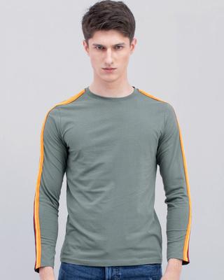 Shop Snitch Streamer Grey Crew Neck T-Shirt-Front