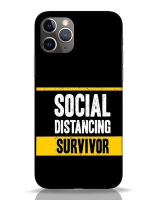 Shop Social Distancing iPhone 11 Pro Mobile Cover-Front